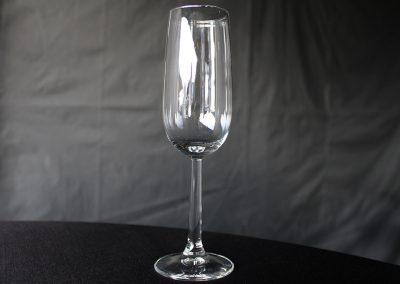 Champagneflutes  0,25,-