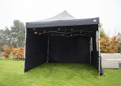 Losse partytent 3×3  75,-