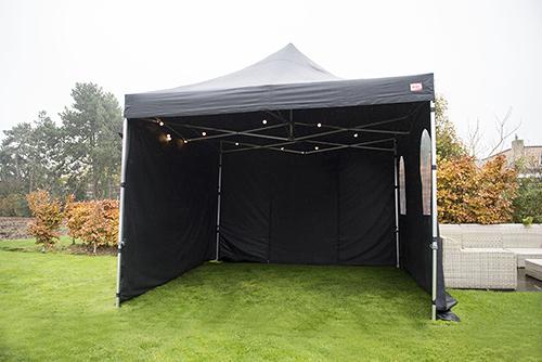 Easy up tent verhuur bij Partyverhuur & Event service Arjen