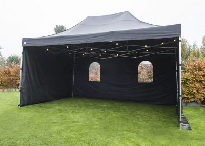 Losse partytent 3×6  105,-