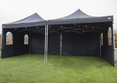 Losse partytent 4×8  165,-